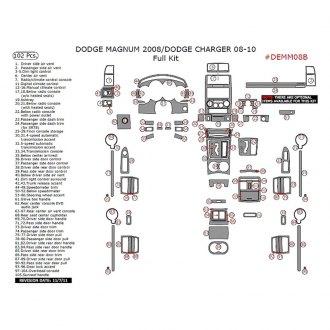 2009 Dodge Charger Custom Gauges & Gauge Face Kits