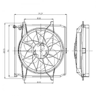 High Performance Engine Cooling Fans High Performance