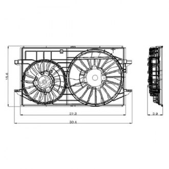 Performance Radiator Cooling Fans Pro Comp Cooling Fans