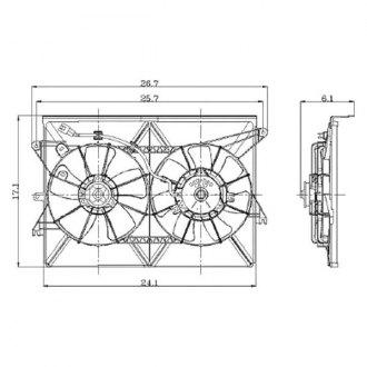 2008 Scion tC Replacement Engine Cooling Parts
