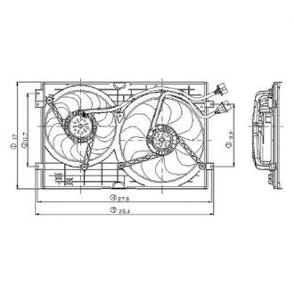 2003 Volkswagen Jetta Replacement Engine Cooling Parts