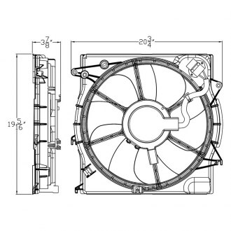 2015 Hyundai Sonata Performance Engine Cooling — CARiD.com