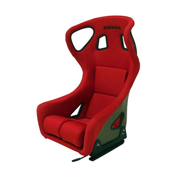 bucket racing chair marlin fishing seibon bseat k r fc type carbon red seat