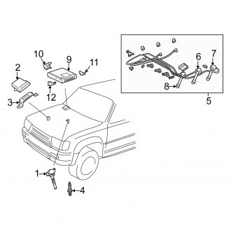 Wiring Diagram PDF: 2002 Toyota 4runner Wiring Diagram