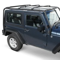 TrailFX - Jeep Wrangler 2004 Black Roof Rack