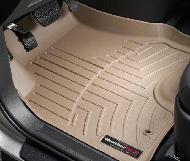 Weathertech Digitalfit Molded Floor Mats St Row Tan