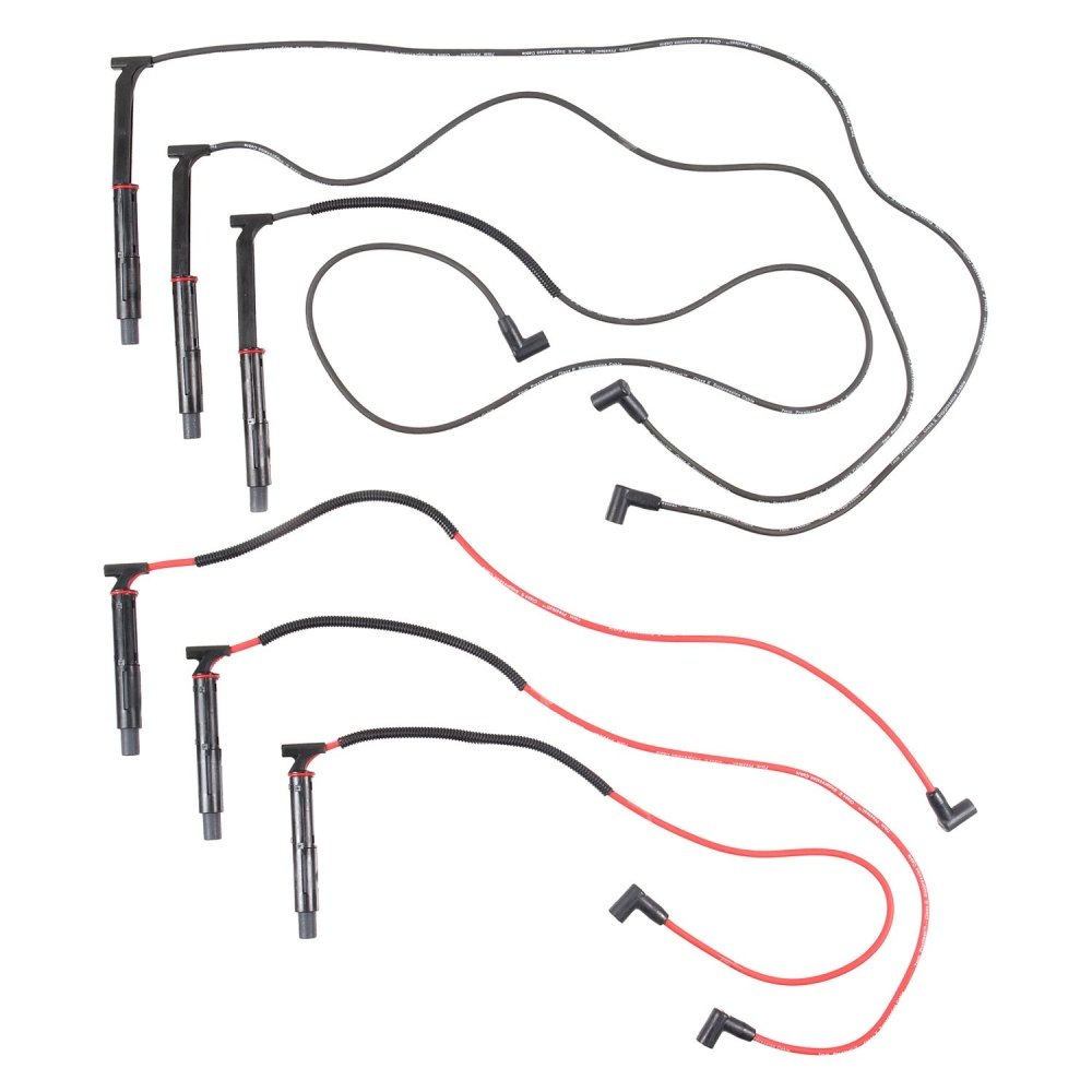 medium resolution of accel u00ae chevy camaro 1993 spark plug wire set chevy starter wiring chevy distributor wiring diagram
