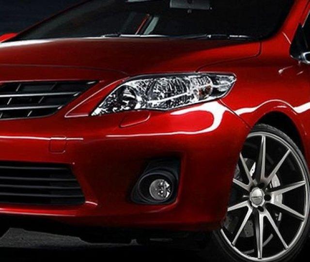 2012 Toyota Corolla Accessories Parts