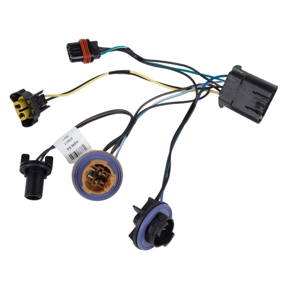 medium resolution of acdelco gm original equipment headlight wiring harness