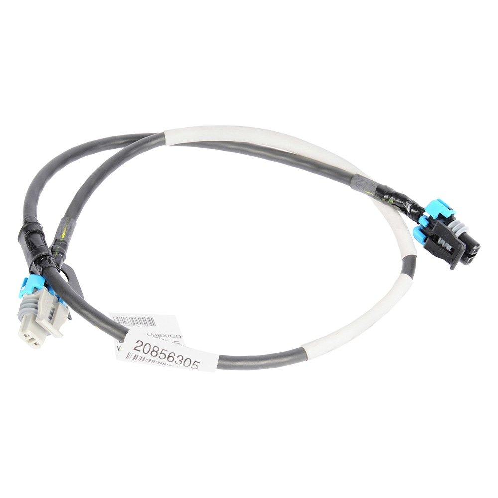 medium resolution of acdelco gm original equipment front passenger side abs wheel speed sensor wiring harness