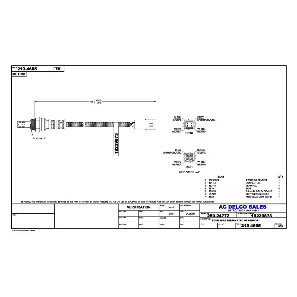 medium resolution of global automotive oxygen sensor wiring diagram html wiring library acdelco professional oxygen sensor