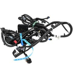 acdelco gm original equipment headlight wiring harness [ 1000 x 1000 Pixel ]