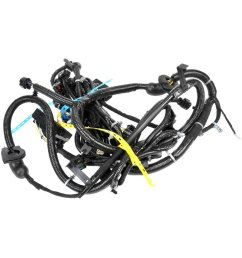 gm original equipment headlight wiring  [ 1000 x 1000 Pixel ]