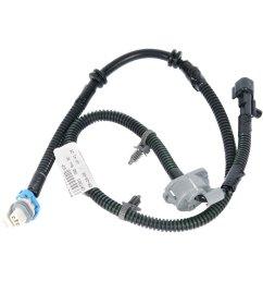 acdelco gm original equipment front abs wheel speed sensor wiring harness [ 1500 x 1500 Pixel ]