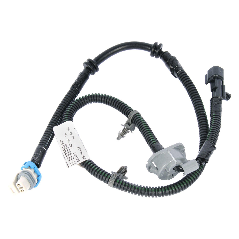 hight resolution of acdelco gm original equipment front abs wheel speed sensor wiring harness