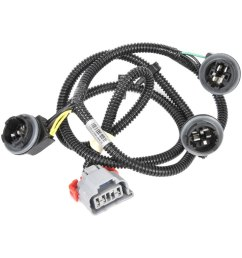 acdelco gm original equipment tail light wiring harness [ 1000 x 1000 Pixel ]