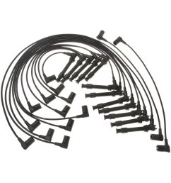 acdelco professional spark plug wire set [ 1000 x 1000 Pixel ]