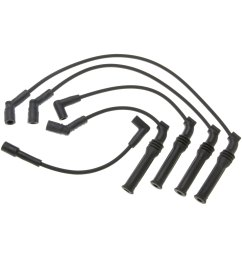 acdelco professional spark plug wire set [ 1500 x 1500 Pixel ]