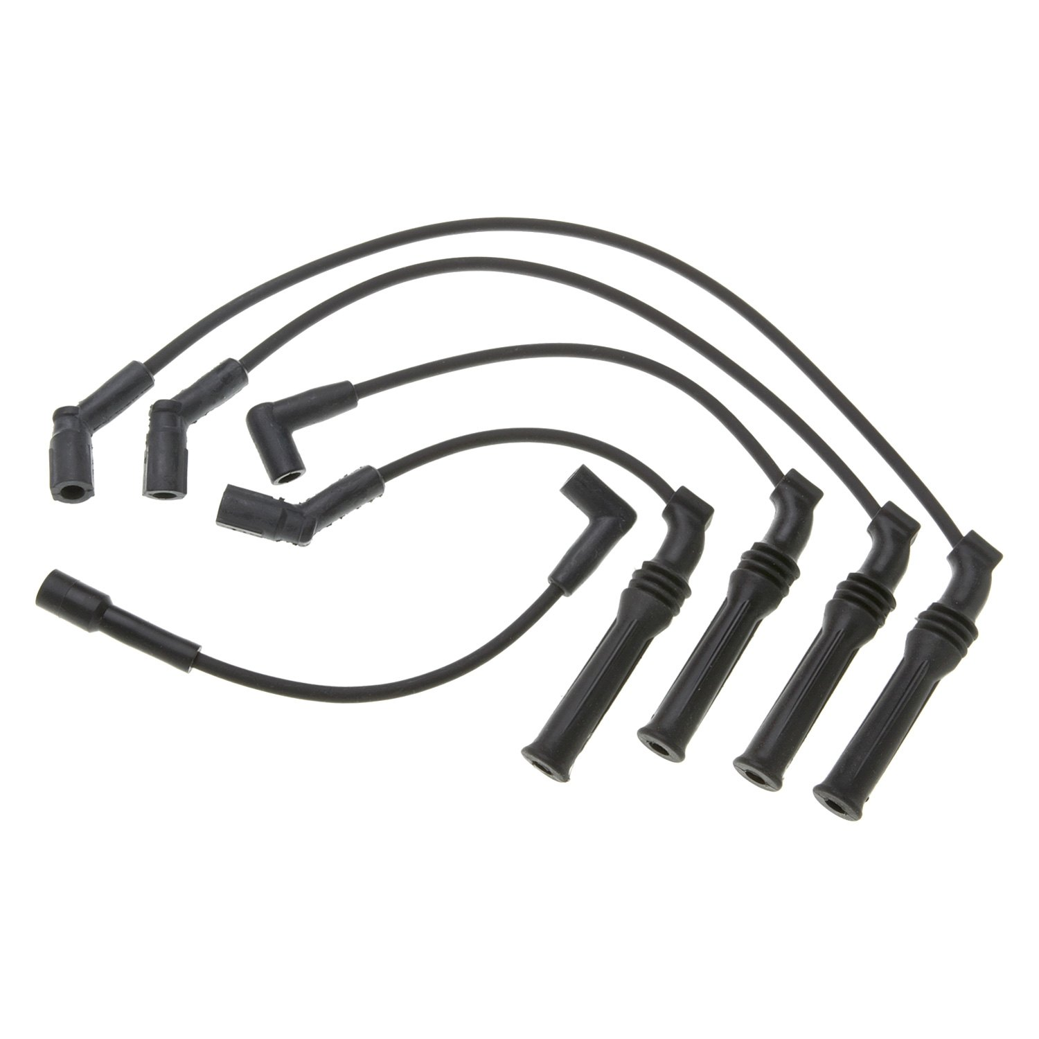 hight resolution of acdelco professional spark plug wire set acdelco peugeot 405