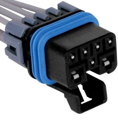 acdelco gm original equipment engine wiring harness connector [ 1000 x 1000 Pixel ]