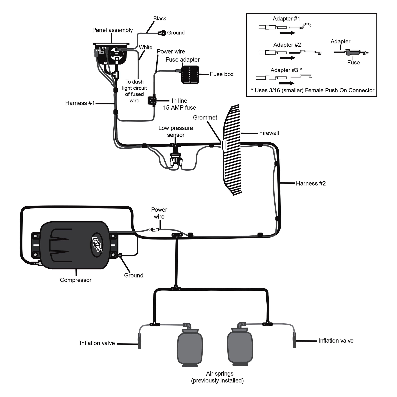 air horn compressor not working