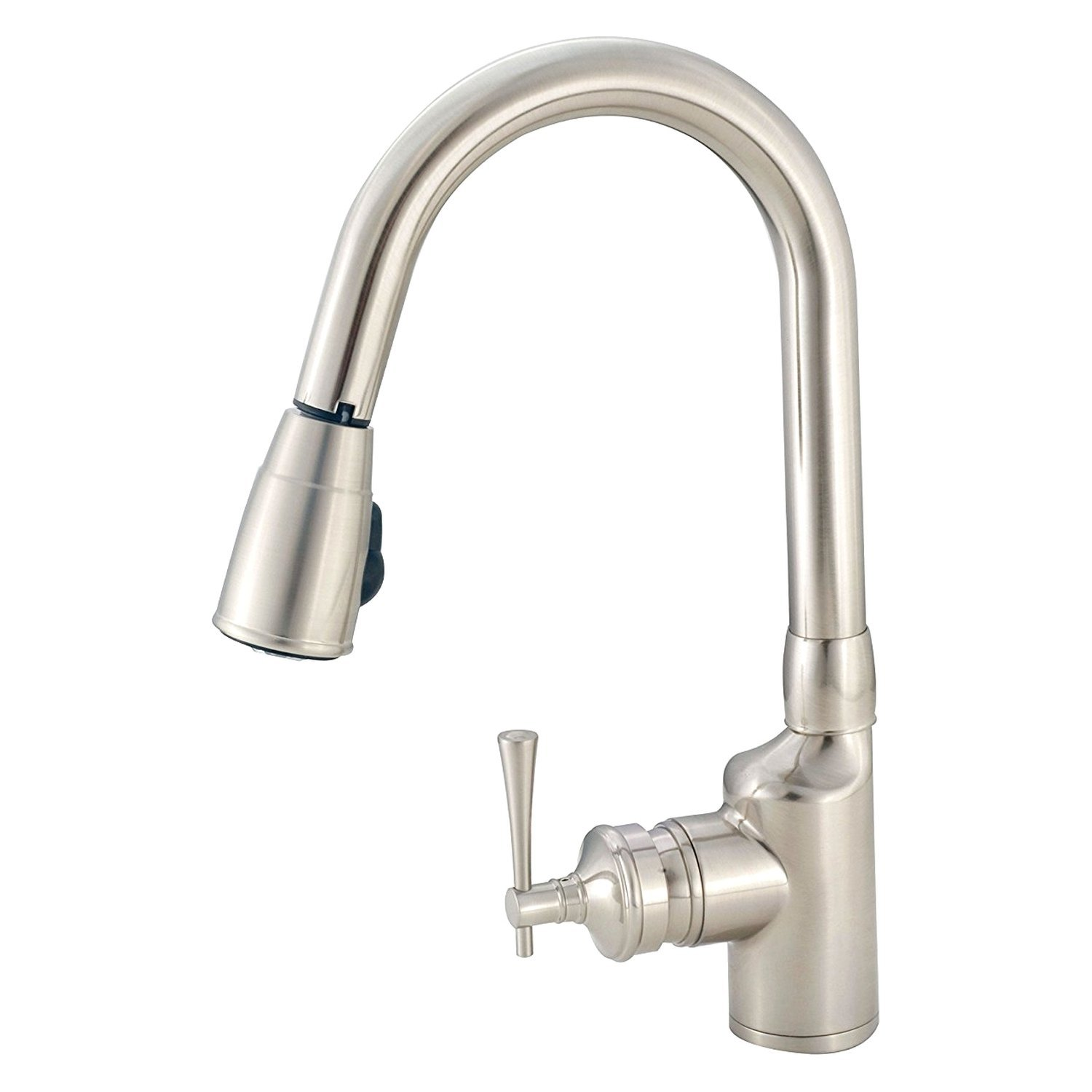 pulldown kitchen faucet stonewall salsa american brass pull down camperid