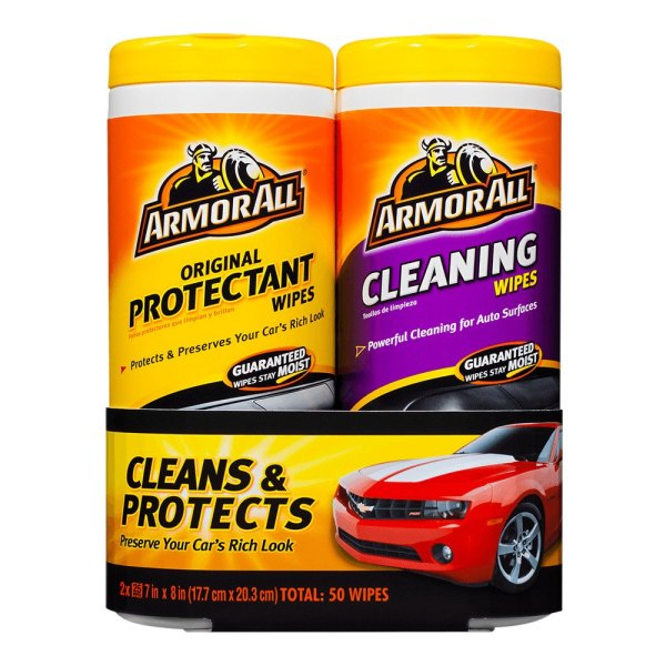 Armor All 10848 Protectant Wipes and Cleaning Wipes