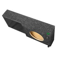 Audio Enhancers - Carpeted Down-Firing Subwoofer Enclosure