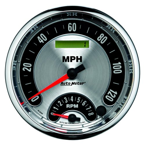 small resolution of auto meter american muscle series 5 tachometer speedometer combo gauge