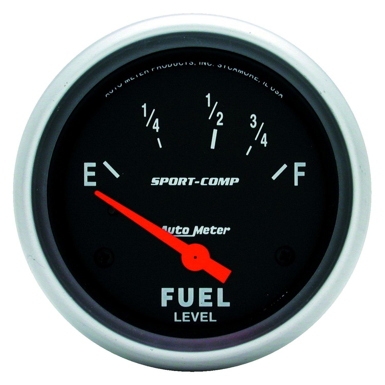 autometer sport comp wiring diagram redarc sbi auto meter 3516 series 2 5 8 quot fuel level gauge