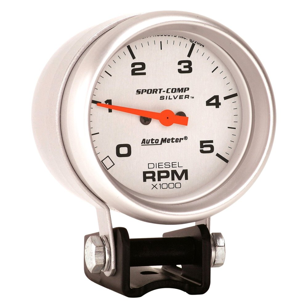 medium resolution of auto meter ultra lite series 2 5 8 pedestal tachometer gauge