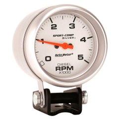 Autometer Sport Comp Wiring Diagram 71 Chevelle Starter Auto Meter 3788 Ultra Lite Tachometer Pedestal Gauge