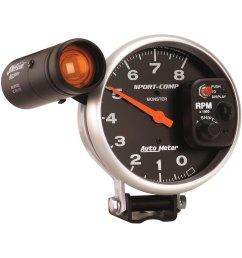 auto guage auto meter tachometer wiring diagram images gallery [ 1500 x 1500 Pixel ]