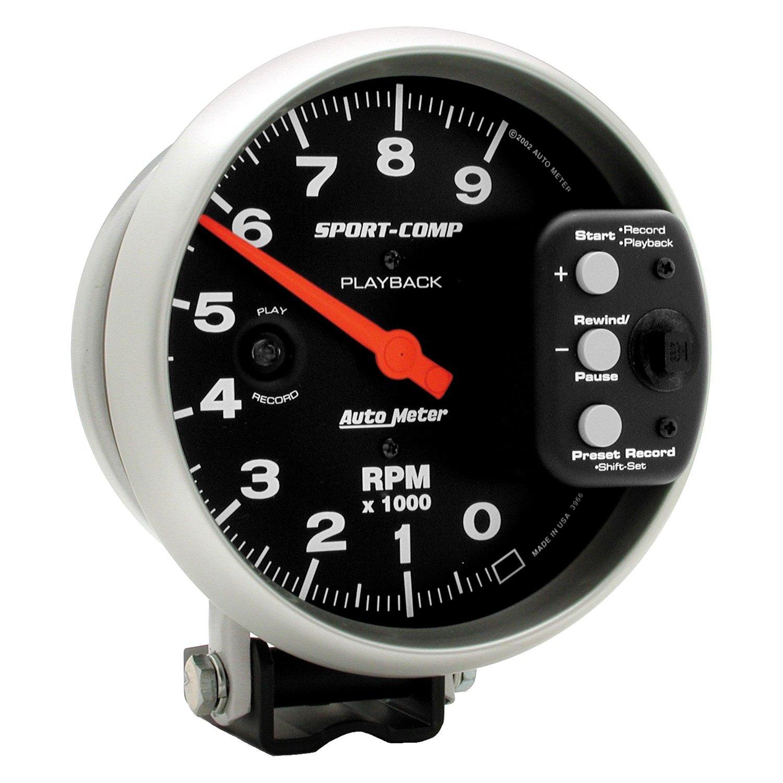 autometer sport comp tach wiring diagram taotao 110 atv auto meter 3966 series 5 quot pedestal