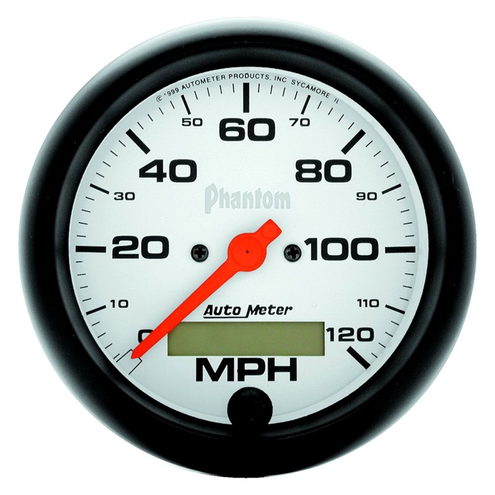 medium resolution of  meter phantom series 3 3 8 speedometer gauge 0 120 mphauto