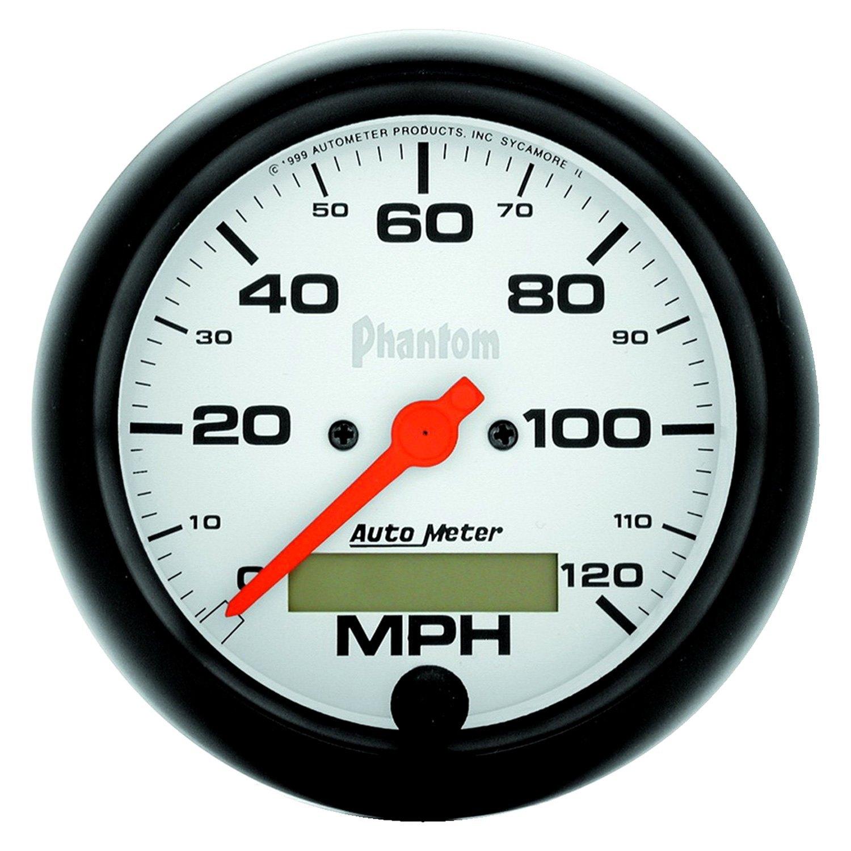 hight resolution of  meter phantom series 3 3 8 speedometer gauge 0 120 mphauto