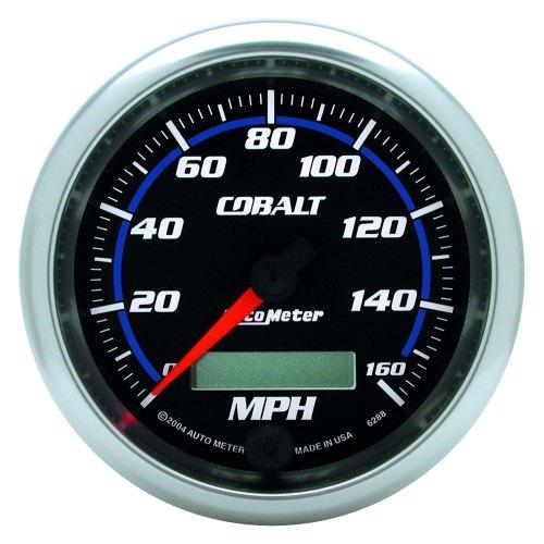 small resolution of auto meter cobalt series 3 3 8 speedometer gauge 0