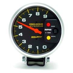 Autometer Air Fuel Gauge Wiring Diagram Puch Auto Meter 6809 Pro Comp Series 5 Quot Pedestal Tachometer