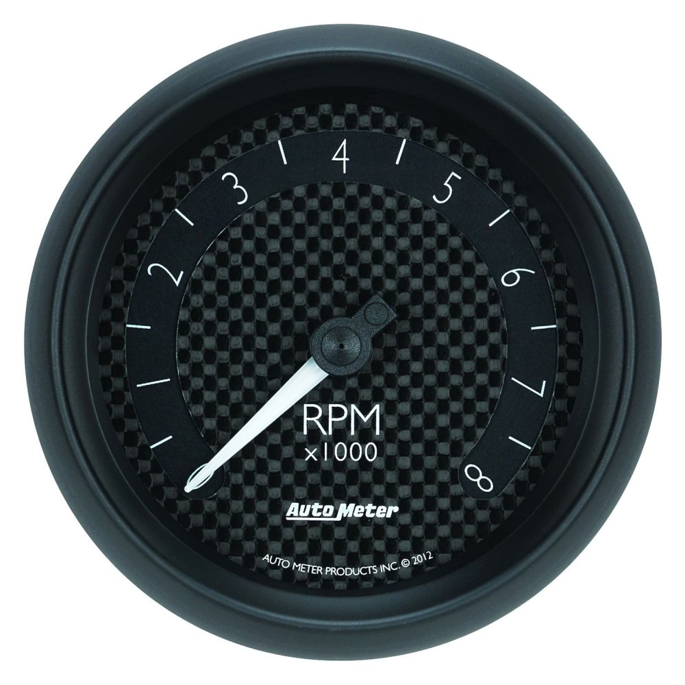 medium resolution of auto meter gt series 3 3 8 in dash tachometer