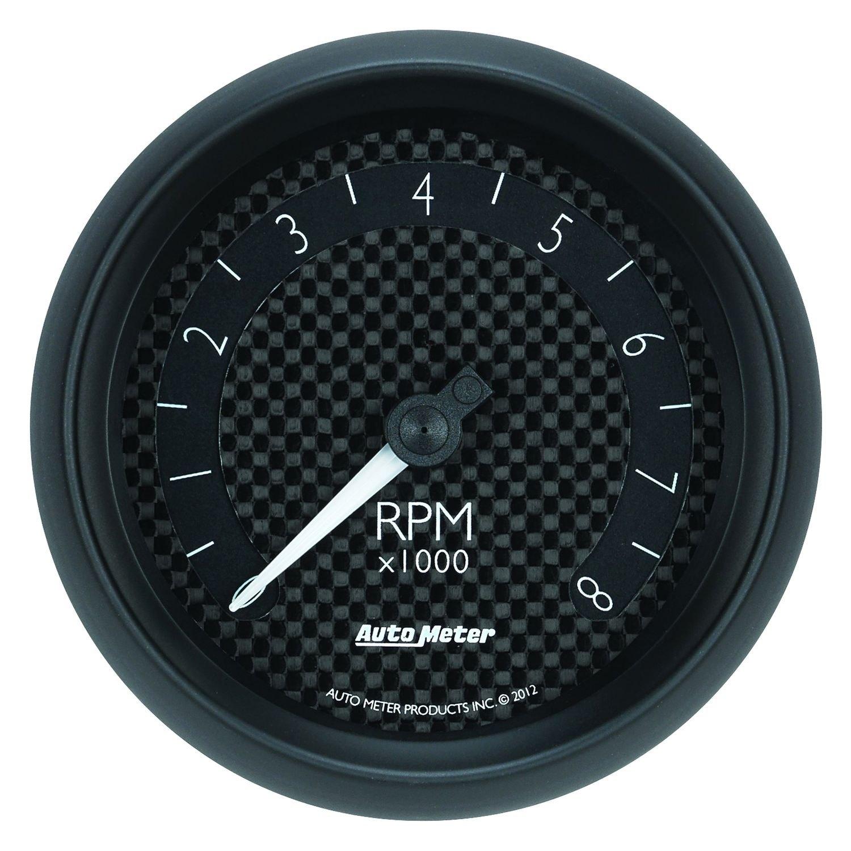 hight resolution of auto meter gt series 3 3 8 in dash tachometer