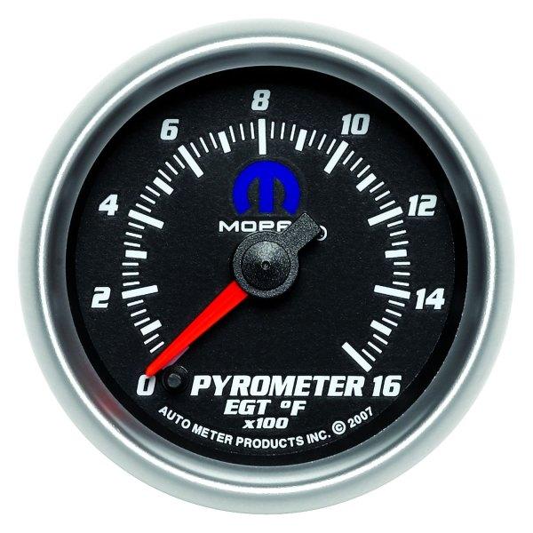 Auto Meter 880017 - Mopar Pyrometer In-dash Gauge