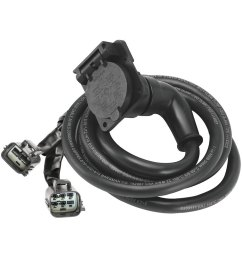 bargman 9 90 degrees 5th wheel and gooseneck adapter harness [ 1000 x 1000 Pixel ]