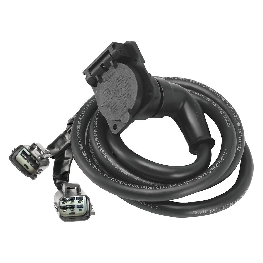medium resolution of bargman 9 90 degrees 5th wheel and gooseneck adapter harness