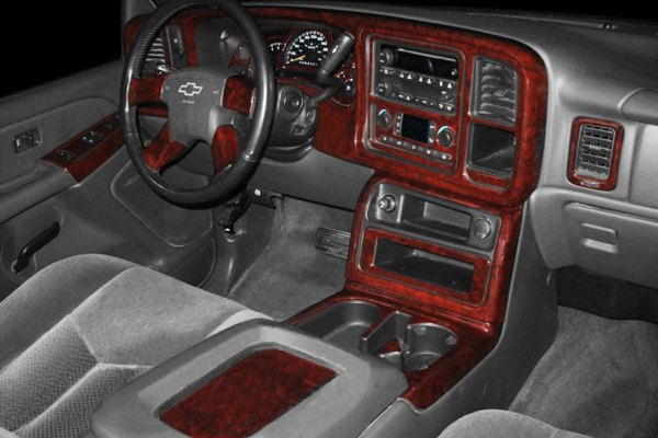 1998 Chevy Silverado Wood Grain Dash Kit