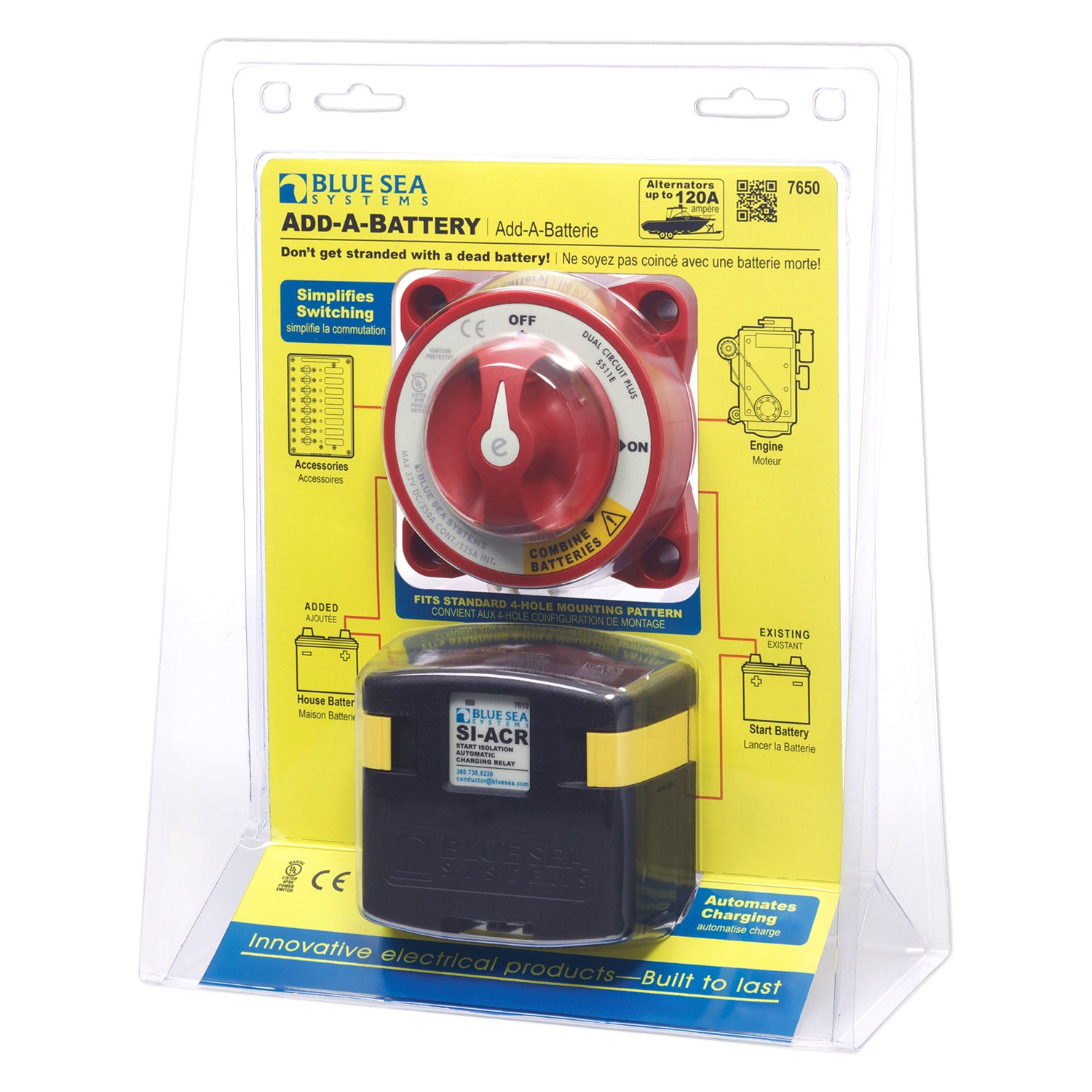 blue sea mini add a battery wiring diagram reese brake controller systems 6007 seas switch
