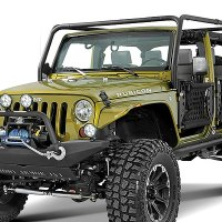 Jeep Wrangler Body Armor Roof Rack