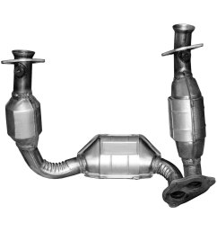 bosal direct fit catalytic converter and pipe assembly [ 1500 x 1500 Pixel ]