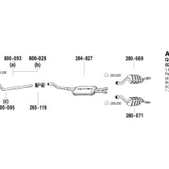 Audi A4 Exhaust System Diagram Motion Light Wiring 2003 Auto Parts Catalog And