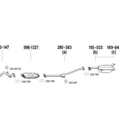 bosal replacement exhaust kit [ 1500 x 1000 Pixel ]