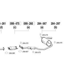bosal mazda miata 1990 replacement exhaust kit 1990 miata exhaust diagram miata exhaust diagram [ 1500 x 1000 Pixel ]